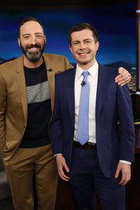 TONY HALE, MAYOR PETE BUTTIGIEG