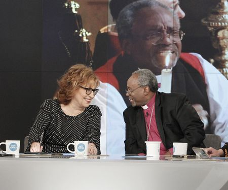 JOY BEHAR, BISHOP MICHAEL CURRY
