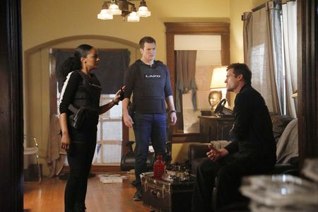MEKIA COX, NATHAN FILLION, BAILEY CHASE