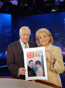 HUGH DOWNS, BARBARA WALTERS