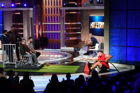 ANTHONY ANDERSON, MICHAEL STRAHAN, PATTON OSWALT, TARAN KILLAM