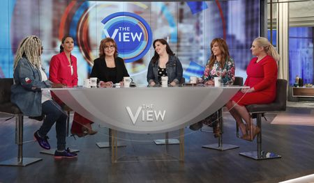 WHOOPI GOLDBERG, ABBY HUNTSMAN, JOY BEHAR,ALLISON TOLMAN, SUNNY HOSTIN, MEGHAN MCCAIN