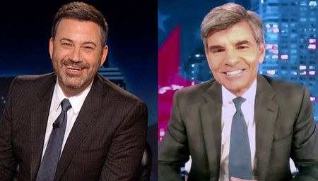 JIMMY KIMMEL, GEORGE STEPHANOPOULOS