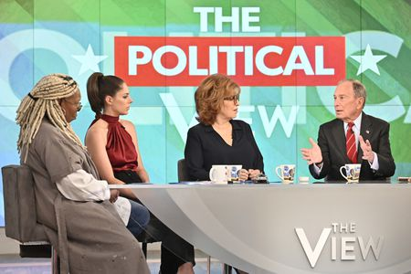WHOOPI GOLDBERG, ABBY HUNTSMAN, JOY BEHAR, MICHAEL BLOOMBERG