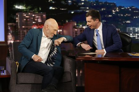 SIR PATRICK STEWART, MAYOR PETE BUTTIGIEG
