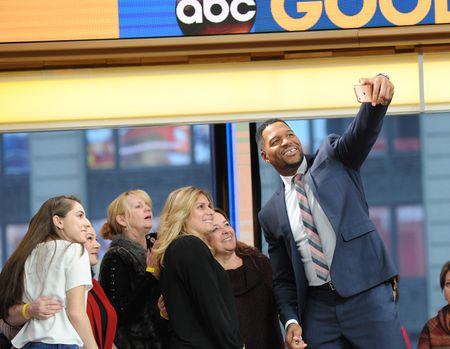 AUDIENCE, MICHAEL STRAHAN