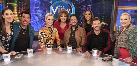 ABBY HUNTSMAN, LIONEL RICHIE, KATY PERRY, JOY BEHAR,  LUKE BRYAN, SUNNY HOSTIN, RYAN SEACREST, MEGHAN MCCAIN
