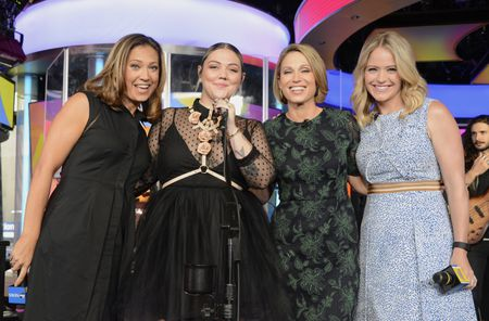 GINGER ZEE, ELLE KING, AMY ROBACH, SARA HAINES