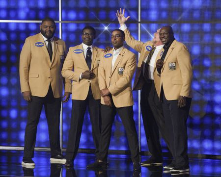 ORLANDO PACE, MICHAEL IRVIN, CRIS CARTER, KEVIN GREENE, BRUCE SMITH