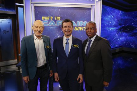 SIR PATRICK STEWART, MAYOR PETE BUTTIGIEG, LEVAR BURTON