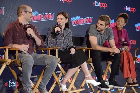 ERIC WALD (EXECUTIVE PRODUCER), ELINE POWELL, ALEX ROE, FOLA EVANS-AKINGBOL
