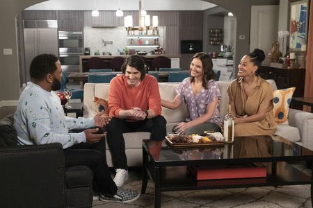 ANTHONY ANDERSON, BRANDON ROUTH, MANDELL MAUGHAN, TRACEE ELLIS ROSS