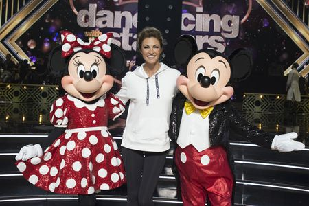 MINNIE MOUSE, ERIN ANDREWS, MICKEY MOUSE