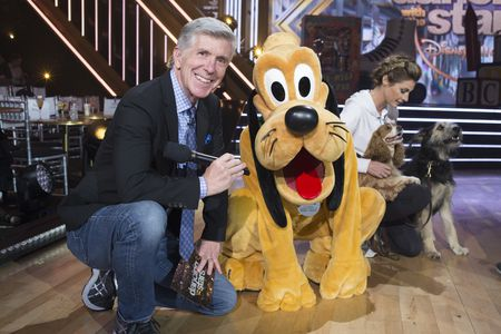 TOM BERGERON, PLUTO, ERIN ANDREWS