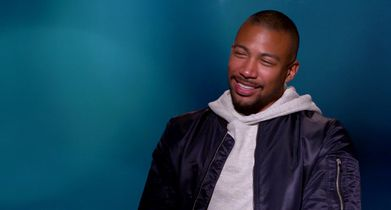 """02. Charles Michael Davis, """"Ted"""", On why he joined the show"""