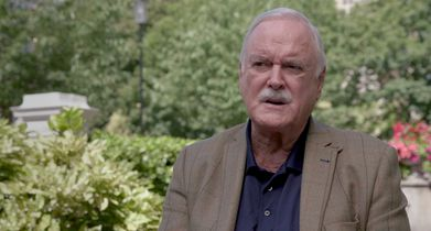 """06. John Cleese, """"Martin"""" On working with Minnie Driver"""