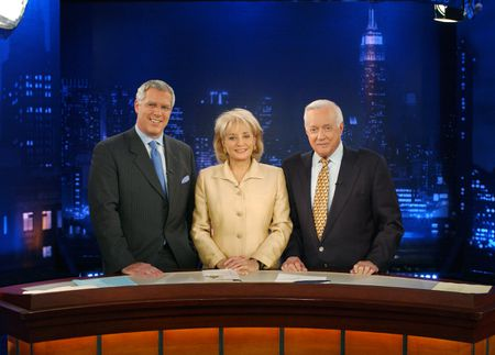 JOHN MILLER, BARBARA WALTERS, HUGH DOWNS