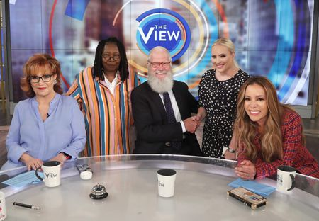 JOY BEHAR, WHOOPI GOLDBERG, DAVID LETTERMAN, MEGHAN MCCAIN, SUNNY HOSTIN