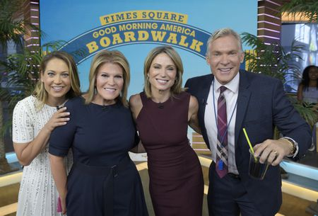 GINGER ZEE, TORY JOHNSON, AMY ROBACH, SAM CHAMPION