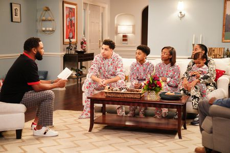 ANTHONY ANDERSON, MARCUS SCRIBNER, MILES BROWN, MARSAI MARTIN, AUGUST AND BERLIN GROSS, TRACEE ELLIS ROSS