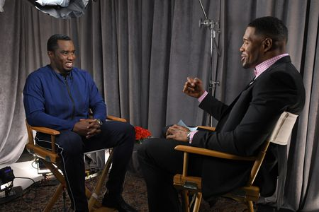 """SEAN """"DIDDY"""" COMBS, MICHAEL STRAHAN"""