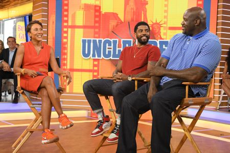 ROBIN ROBERTS, KYRIE IRVING, SHAQUILLE O'NEAL