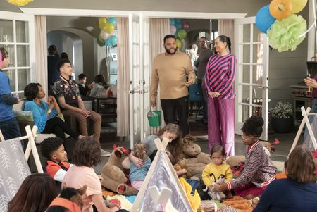 MILES BROWN, JENIFER LEWIS, MARCUS SCRIBNER, ANTHONY ANDERSON, TRACEE ELLIS ROSS, AUGUST AND BERLIN GROSS, MARSAI MARTIN