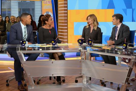 MICHAEL STRAHAN, ROBIN ROBERTS, ELLEN POMPEO, GEORGE STEPHANOPOULOS