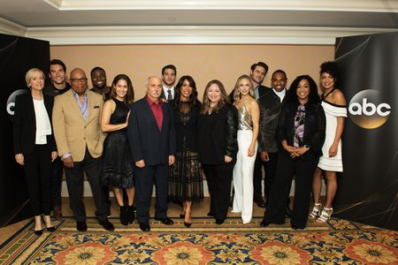 BETSY BEERS (EXECUTIVE PRODUCER), JAY HAYDEN, PARIS BARCLAY (EXECUTIVE PRODUCER), OKIERIETE ONAODOWAN, JAINA LEE ORTIZ, MIGUEL SANDOVAL, ALBERTO FREZZA, CHANNING DUNGEY (PRESIDENT,ABC ENTERTAINMENT), STACY MCKEE (EXECUTIVE PRODUCER), DANIELLE SAVRE, GREY