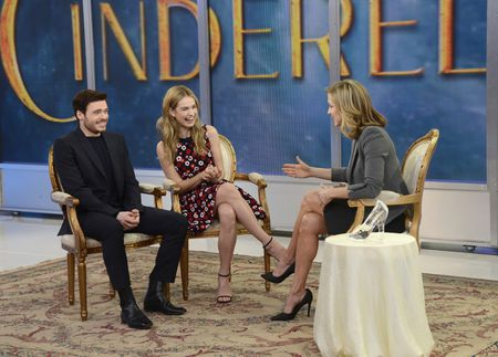 RICHARD MADDEN, LILY JAMES, LARA SPENCER