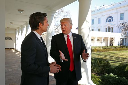 DAVID MUIR, PRESIDENT DONALD TRUMP