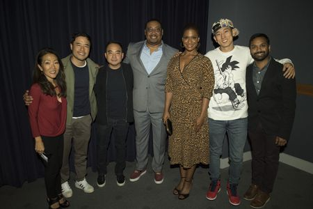 MAY LEE , RANDALL PARK , MELVIN MAR (EXECUTIVE PRODUCER), CEDRIC YARBROUGH , KIMRIE LEWIS, JAKE CHOI, SNEHAL DESAI