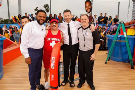 ANTHONY ANDERSON, GUILLERMO RODRIGUEZ, JIMMY KIMMEL, COUSIN SAL