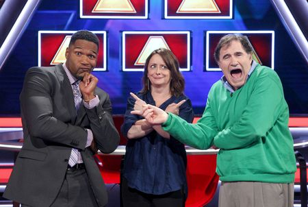 MICHAEL STRAHAN, RACHEL DRATCH, RICHARD KIND
