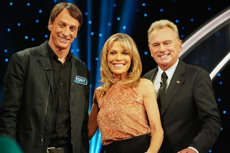 TONY HAWK, VANNA WHITE, PAT SAJAK