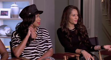 11.	Persia White, Guest Star, On reuniting with the cast