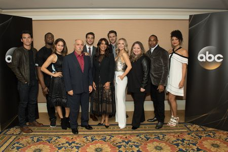 JAY HAYDEN, OKIERIETE ONAODOWAN, JAINA LEE ORTIZ, MIGUEL SANDOVAL, ALBERTO FREZZA, CHANNING DUNGEY (PRESIDENT,ABC ENTERTAINMENT), GREY DAMON, DANIELLE SAVRE, STACY MCKEE (EXECUTIVE PRODUCER),  JASON GEORGE,  BARRETT DOSS