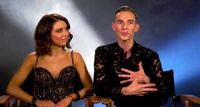 02 Jenna Johnson, Pro, Adam Rippon, Athlete, On what he will bring to the competition