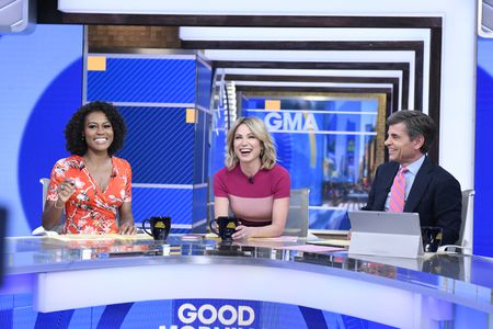 JANAI NORMAN, AMY ROBACH, GEORGE STEPHANOPOULOS