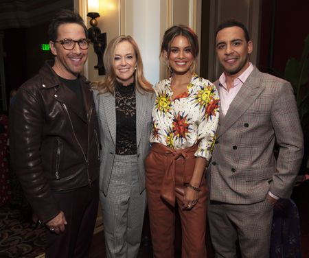 DAN BUCATINSKY, KAREY BURKE (PRESIDENT, ABC ENTERTAINMENT), NATHALIE KELLEY, VICTOR RASUK