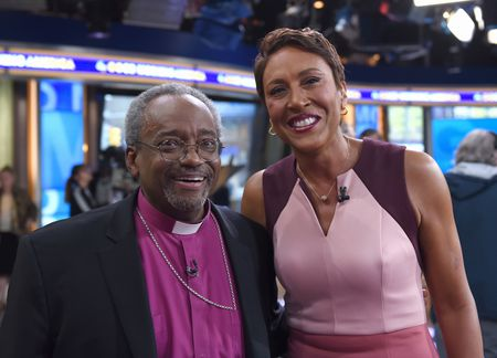 BISHOP MICHAEL CURRY, ROBIN ROBERTS