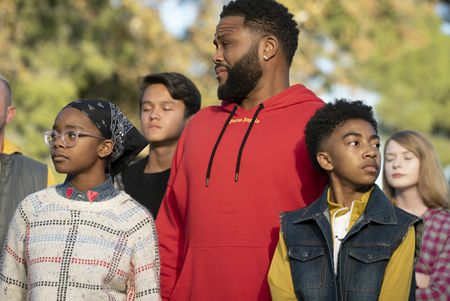 MARSAI MARTIN, ANTHONY ANDERSON, MILES BROWN