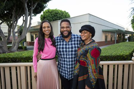 MICHELLE COLE (COSTUME DESIGNER), ANTHONY ANDERSON (EXECUTIVE PRODUCER), DEVON PATTERSON (COSTUME SUPERVISOR)