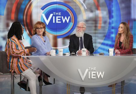 WHOOPI GOLDBERG, JOY BEHAR, DAVID LETTERMAN, SUNNY HOSTIN