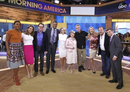 ROBIN ROBERTS, GINGER ZEE, KYLE MACLACHLAN, MICHAEL STRAHAN, AMY ROBACH, KIMMY ROBERTSON, DANA ASHBROOK, LARA SPENCER, JIM BELUSHI, GEORGE STEPHANOPOULOS