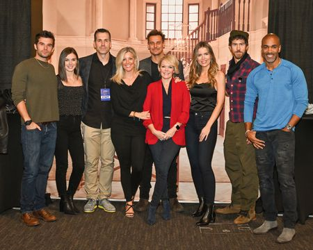 JOSH SWICKARD, KATELYN MACMULLEN, FRANK VALENTINI (EXECUTIVE PRODUCER), LAURA WRIGHT, INGO RADEMACHER, MAURA WEST, SOFIA MATTSSON, WES RAMSEY, DONNELL TURNER
