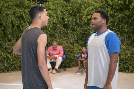 MARCUS SCRIBNER, LAURENCE FISHBURNE, MILES BROWN, ANTHONY ANDERSON