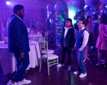 ANTHONY ANDERSON, MILES BROWN, EMERSON MIN
