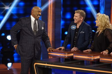 STEVE HARVEY, TODD CHRISLEY, JULIE CHRISLEY