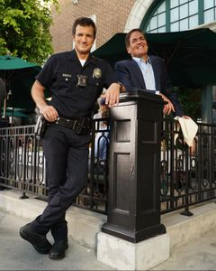 NATHAN FILLION, MARK CUBAN